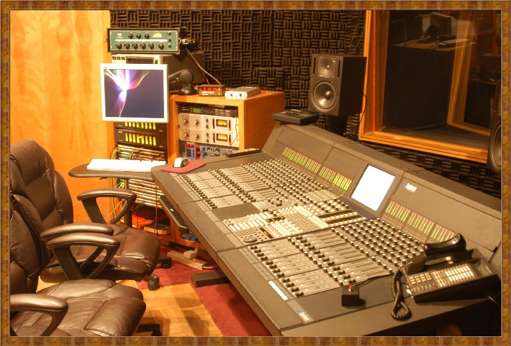 control room Eagle Audio Recording Studio Dallas Fort Worth TX